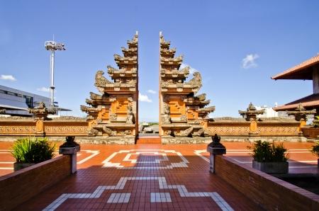 Split Gate at Ngurah Rai airport, Bali, Indonesia
