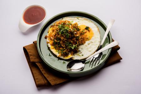 Anda or Egg ghotala is a popular innovative tasty recipe from Surat, Gujarat