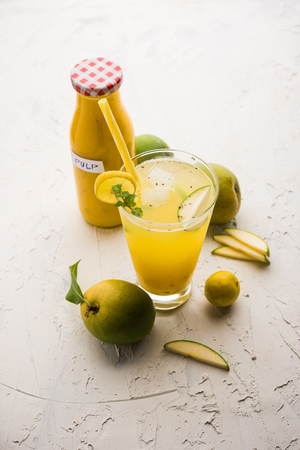 Aam Panna/panha or Salty and sweet Green Mango Juice