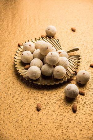 Rava Laddu or Semolina Laddoo Or Rawa Ladu, a popular sweet dish from Maharashtra, India