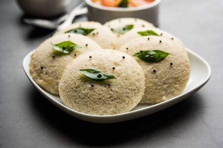 Idli Sambhar or Idly Sambar is a popular south Indian food, served with coconut chutney.