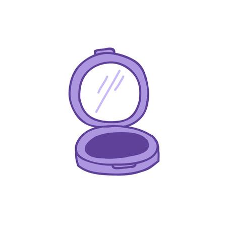 eye shadow doodle icon