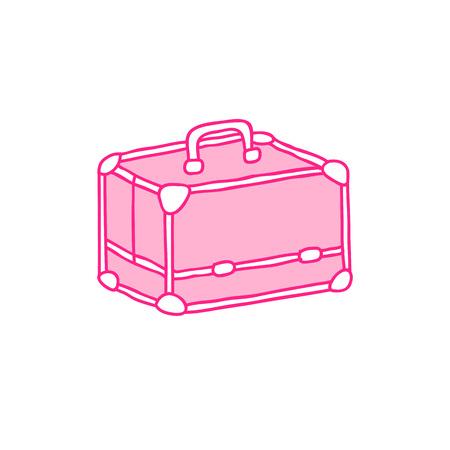 makeup case doodle icon