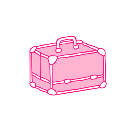 makeup case doodle icon 版權商用圖片 - 124768240