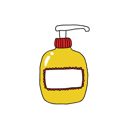 soap for intimate hygiene doodle icon