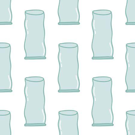 seamless doodle pattern illustration