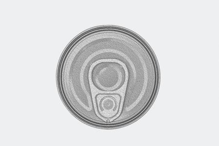 oil paints: Oil paints on lid can.