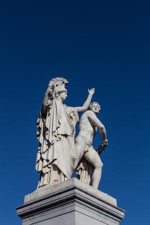 Sculpture on Schlossbruecke, Berlin. Reklamní fotografie
