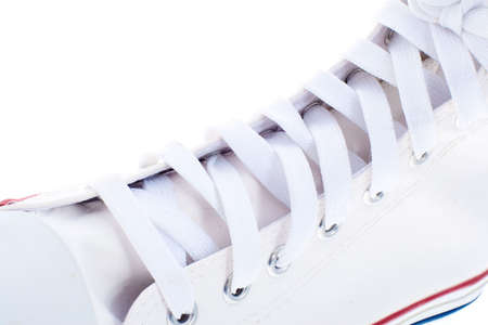 white sport shoes Stock Photo - 4981564