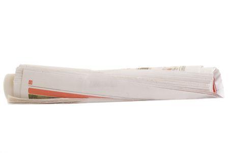 Rolled Newspaper