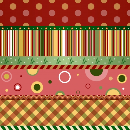 Christmas and New Year seamless pattern. Merry christmas wallpaper.  Illustration