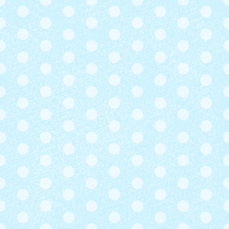 Blue Polka Dot Fabric Background that is seamless and repeats. Vector illustration Illustration