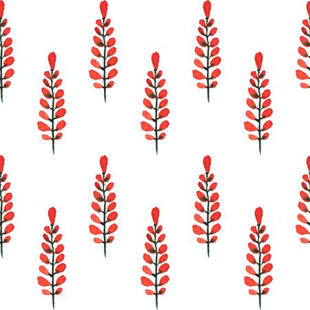 Tulipanes. Acuarela Sin Patrón. Beautiful Vector Dibujado A Mano ...