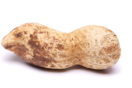 goober: A dark pod of peanuts