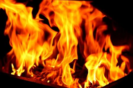 全体の背景に炎炎のテクスチャをブレイズします。