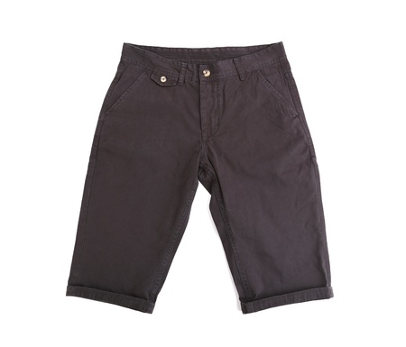 breeches: black breeches isolated on the white background