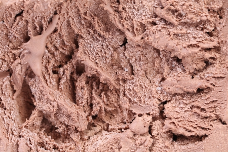Chocolate ice cream macro detailed texture  Whole background