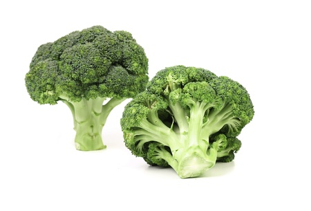 Broccoli vegetable isolated on a white background