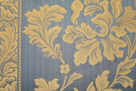 깔개: 노란 꽃과 푸른 양탄자. 전체 배경.
