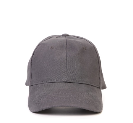 baseball caps: Working peaked cap. Isolated on a white background.