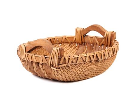 cepelia: Vintage weave wicker basket