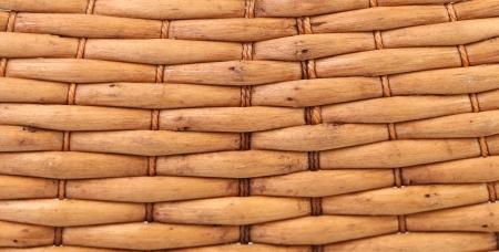 cepelia: vintage weave wicker basket.  Stock Photo