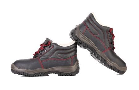 Black man's boots. Stock Photo - 22477140