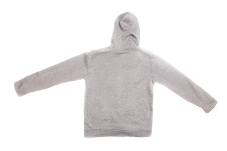Hooded sweater isolated on a white background Stock Photo - 22880487