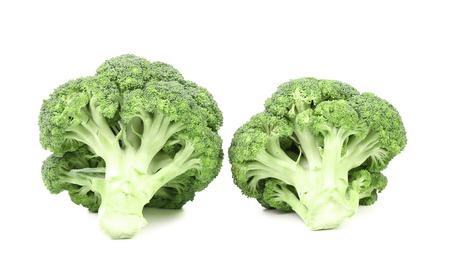 Broccoli vegetable. Isolated on a white background. photo
