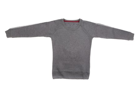 Male sweater isolated on the white background photo