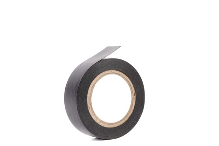 sealing tape: Insulating tape. Isolated on a white background.