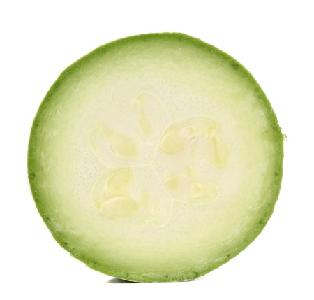 phallic: M�dula de vegetales frescos. Aislado en un fondo blanco.