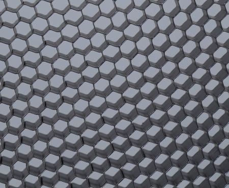 Close up of black net. Gray light. Whole background. photo