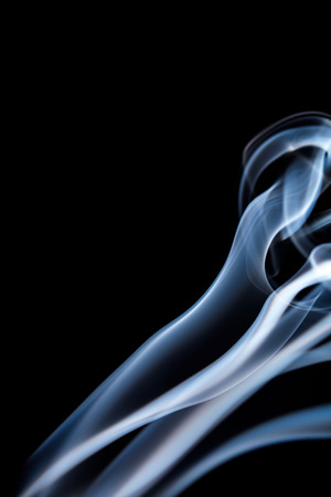 White smoke stream close up. Abstract. Whole background. photo
