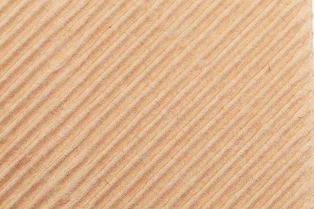 Fragment of corrugated carton. As background. Stock Photo