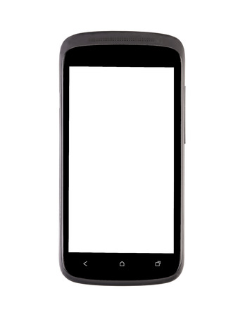 Mobile phone. Isolated on a white background. photo