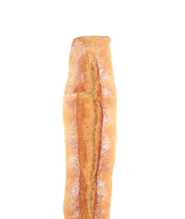 Fresh crispy baguette.  photo
