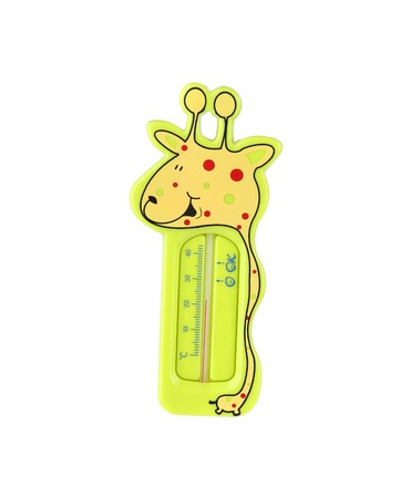 Funny giraffe thermometer.  photo