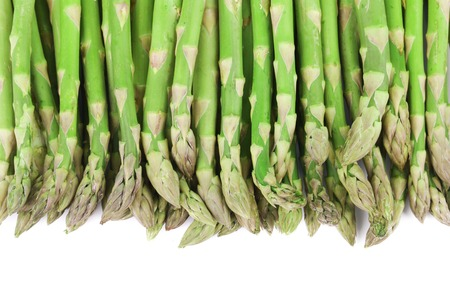 Close up of top asparagus.