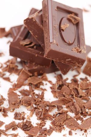 cikolata: Chocolate bars and shaving.
