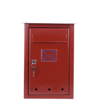Mail box. Isolated on a white background.