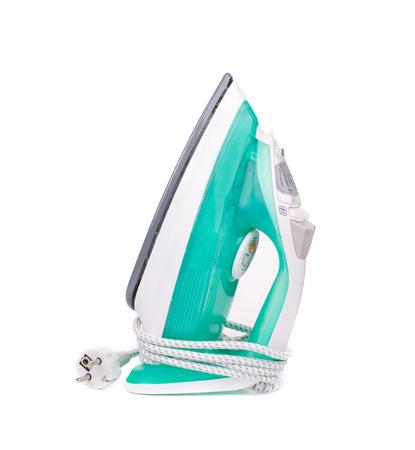 Ironing tool. Isolated on a white background. photo