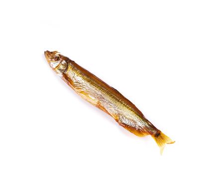 goldish: Goldish anchovy. Isolated on the white background.