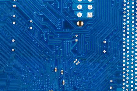 Electronic board close up. Macro. Whole background. photo