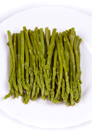 nutritiously: Close up of top asparagus. Whole background.