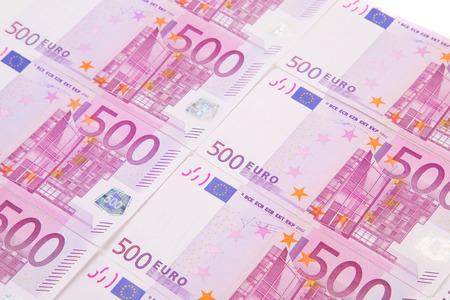 billets euro: Euro notes align�s comme arri�re-plan. Tout le fond.