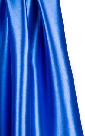blue dark: Blue dark silk texture cloth. Whole background.