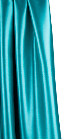 sexual abstract: Soft folds of blue silk cloth texture