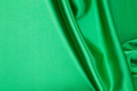 cloth texture: Green silk cloth texture closeup