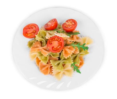 disorganized: farfalle pasta